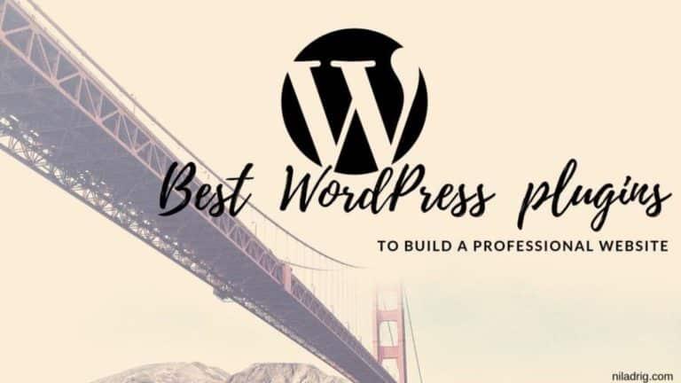 14 Best WordPress Plugins-Essential For Your Website