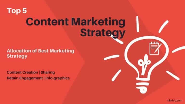 Top 5 Content Marketing Strategy- Growth Perspective